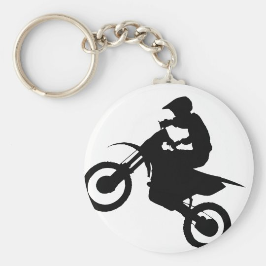 DIRT BIKE KEY RING