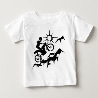 Dirt Bike Mountain Baby T-Shirt