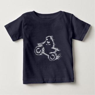 DIRT BIKE ( white scribble ) Baby T-Shirt