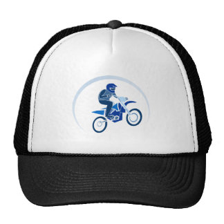 Dirt Biker Vector Biking Hats