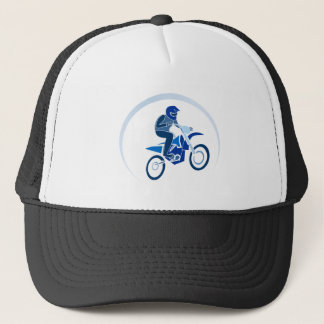 Dirt Biker Vector Biking Trucker Hat