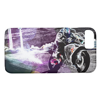 dirt biking motocross racing Motorcycle biker iPhone 8/7 Case