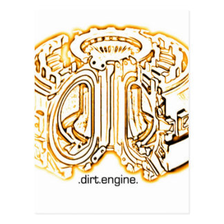 dirt engine post cards