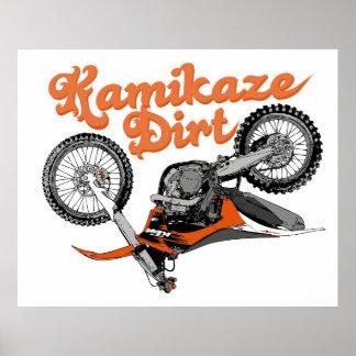 Dirt Kamikaze Poster