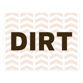 Dirt Postcard