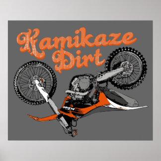 Dirt racing poster