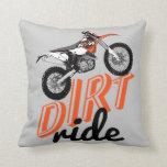 Dirt riders pillows
