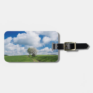 Dirt Road and Apple Trees Bag Tag