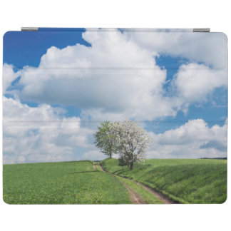 Dirt Road and Apple Trees iPad Cover