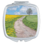 Dirt Road and Tree Compact Mirror