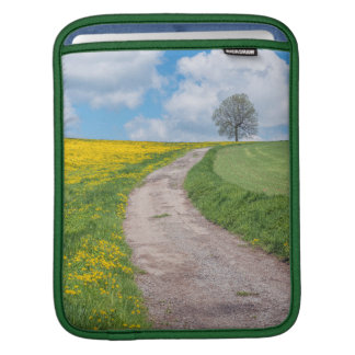 Dirt Road and Tree iPad Sleeve