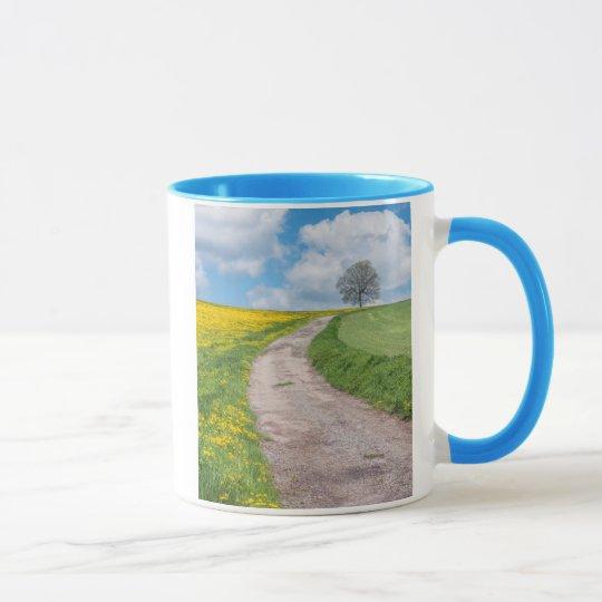 Dirt Road and Tree Mug