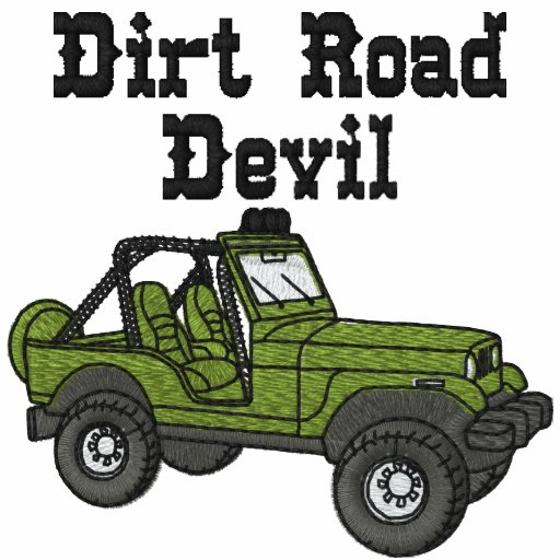 Dirt Road Devil Auto Embroidered Shirt