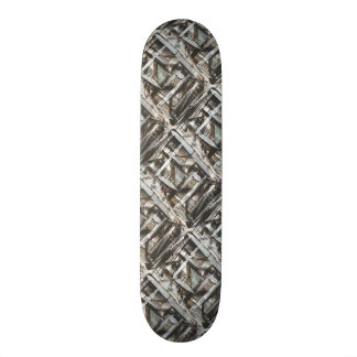 Dirt Road-Hand Painted Abstract Brushstrokes Skate Board