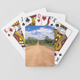 Dirt Road, Kruger National Park, Mpumalanga Playing Cards