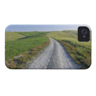 Dirt Road through Fields and Hills, Val d'Orcia, Case-Mate iPhone 4 Cases