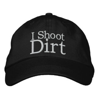 Dirt Sports Photography Hat Embroidered Hat