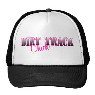 Dirt Track Chick Trucker Hats