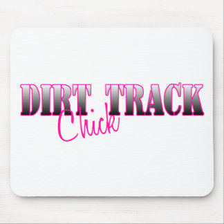 Dirt Track Chick Mousepad