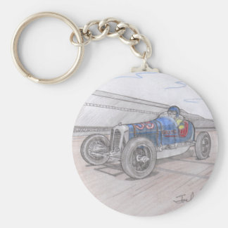 DIRT TRACK RACER keychain