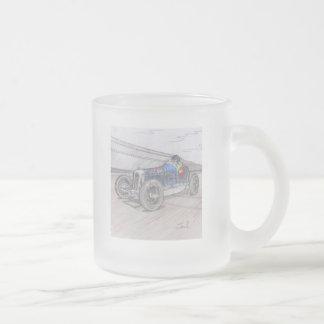 DIRT TRACK RACER mug (frosted glass)