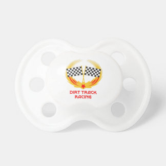DIRT TRACK RACING BABY PACIFIER