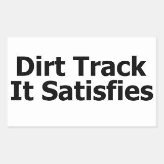 Dirt Track Racing Sticker
