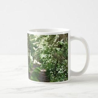 Dirt Track Through Trees. Coffee Mug