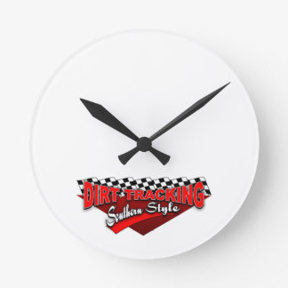 Dirt Tracking Southern Style Clock
