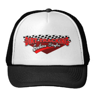 Dirt Tracking Southern Style Mesh Hat