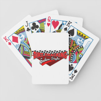 Dirt Tracking Southern Style Poker Deck