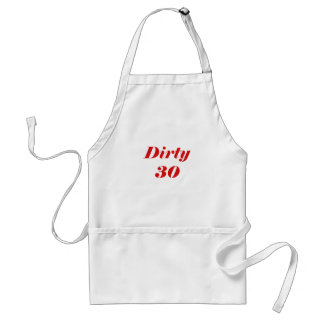 Dirty 30 aprons