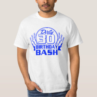 Dirty 30 Birthday Bash T-Shirt