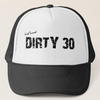 Dirty 30 Birthday Trucker Hat