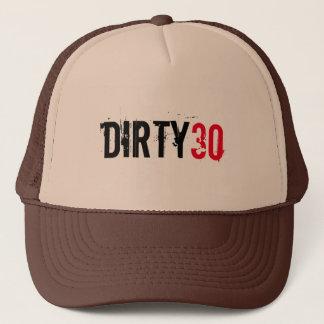 DIRTY 30 THIRTY BIRTHDAY TRUCKER HAT