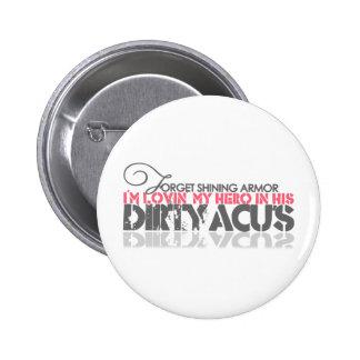 Dirty ACU's 6 Cm Round Badge