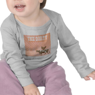 Dirty Animals, Brown Chicken Brown Cow T Shirt