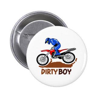Dirty Boy 6 Cm Round Badge