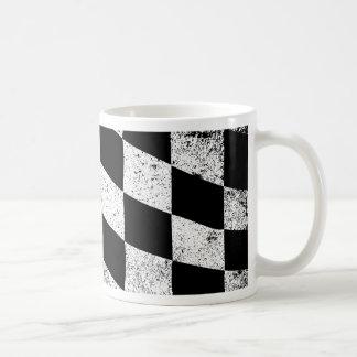 Dirty Chequered Flag Coffee Mug