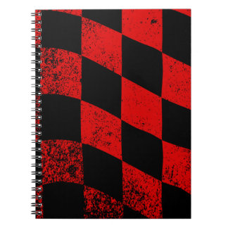 Dirty Chequered Flag Notebook