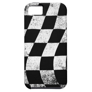 Dirty Chequered Flag Tough iPhone 5 Case