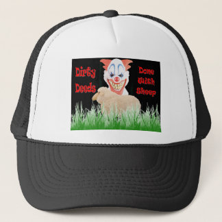 Dirty Deeds Done with Sheep Trucker Hat