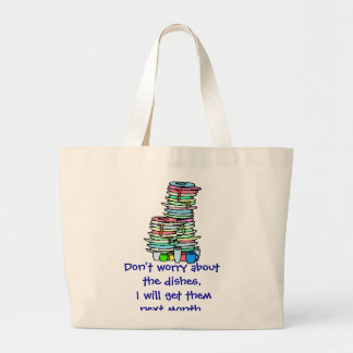 Dirty Dishes Tote Bag
