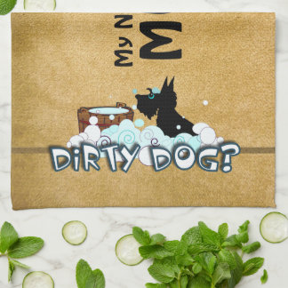 Dirty Dog Kitchen Towels