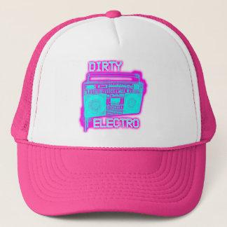 DIRTY ELECTRO dance club DJ girls neon Electro Hat