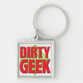 Dirty Geek v2 Keychains