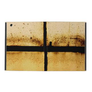 Dirty grunge window iPad folio case