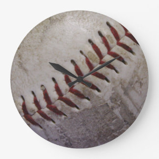 Dirty Grungy Baseball Wallclocks