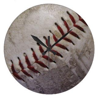 Dirty Grungy Baseball Wallclocks