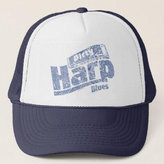 Dirty Harp Blues Trucker Hat